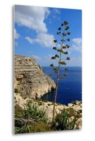 Blue Grotto Coast Malta-Diana Mower-Metal Print