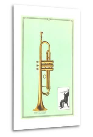 Trumpet--Metal Print