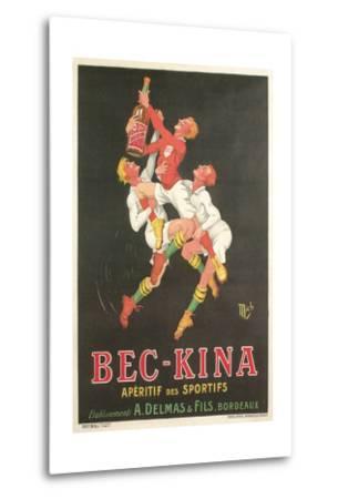 Poster for Bec-Kina Apertif--Metal Print