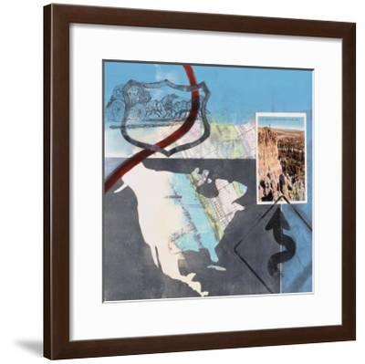 Great American Road Trip II-Connie Tunick-Framed Art Print