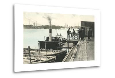 Refshaleoen, Copenhagen Harbor, Denmark--Metal Print