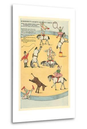 Vintage Circus Toys--Metal Print