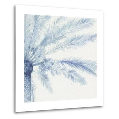 Chambray Palms II-Megan Meagher-Metal Print