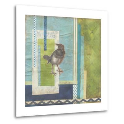 Avian Scrapbook I-Erica J^ Vess-Metal Print