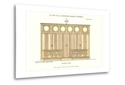 Modern Spanish Carpentry--Metal Print