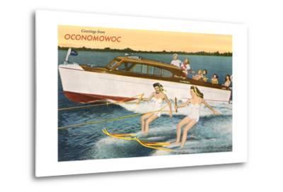 Greetings from Lake Oconomowoc--Metal Print