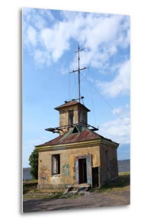 Abandoned Lighthouse-mrivserg-Metal Print