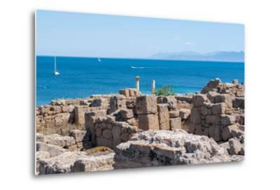 Archaeological Site-caruso christian-Metal Print