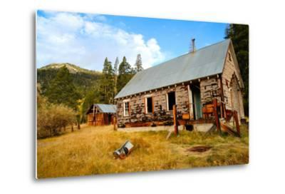 Old Abandoned House-bendicks-Metal Print