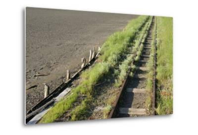 Forgotten Railway - 26-akorotaev-Metal Print