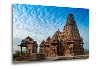 Kandariya Mahadeva Temple, Khajuraho, India, Unesco Heritage Site.-Rudra Narayan Mitra-Metal Print