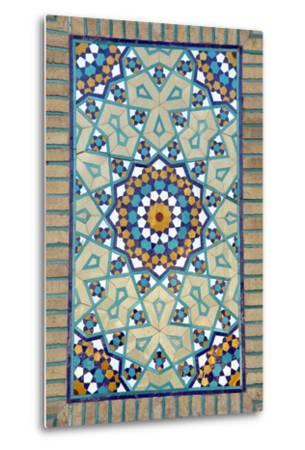 Tiled Mosque - Iran - Tomb of Hazrat Abdul Azim Hasani-saeedi-Metal Print