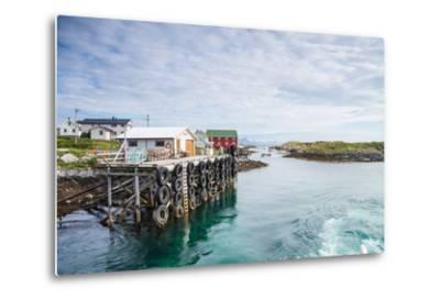 Aproaching A Small Harbor in Northern Norway-Lamarinx-Metal Print