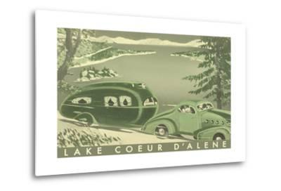 Lake Coeur D'Alene--Metal Print
