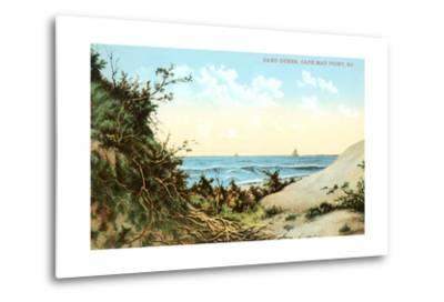 Sand Dunes, Cape May Point--Metal Print