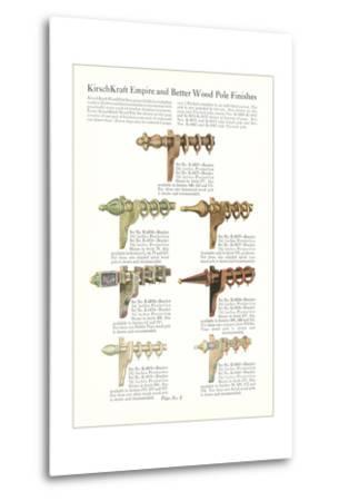 Curtain Hardware Catalog--Metal Print