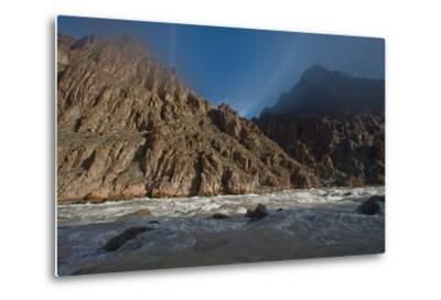 An Early Winter Morning in Granite Rapid, Colorado River-David Edwards-Metal Print