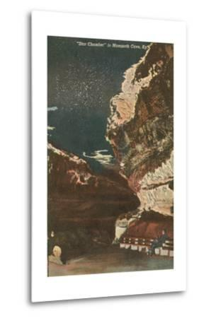 Mammoth Cave, Star Chamber--Metal Print