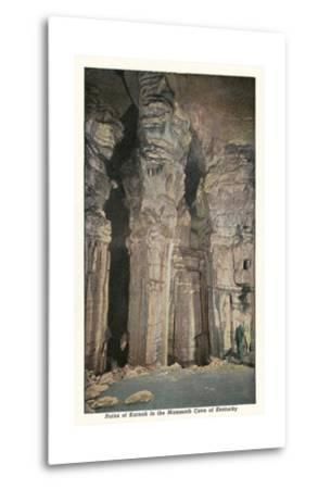 Mammoth Cave, Ruins of Karnak--Metal Print