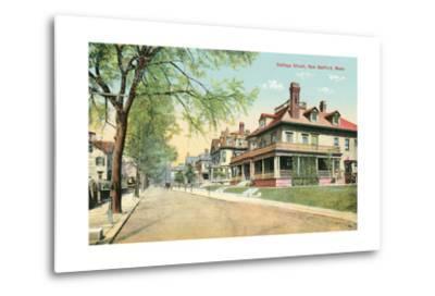 Cottage Street, New Bedford--Metal Print