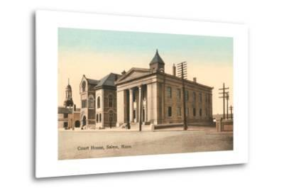 Courthouse, Salem--Metal Print