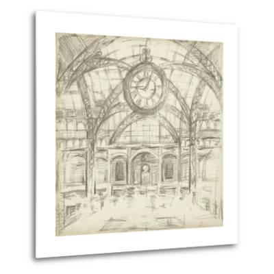 Interior Architectural Study I-Ethan Harper-Metal Print