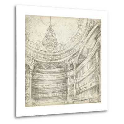 Interior Architectural Study II-Ethan Harper-Metal Print