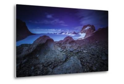 The Wohlthat Mountains in Antarctica's Queen Maud Land-Keith Ladzinski-Metal Print