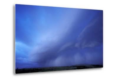 An Evening Storm over the Blacktail Plateau-Tom Murphy-Metal Print