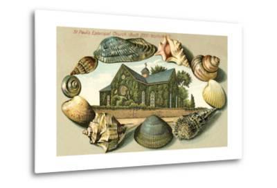 St. Paul's Episcopal Church, Norfolk, VA--Metal Print