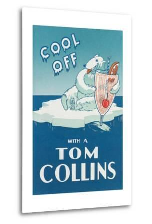 Cool Off with a Tom Collins--Metal Print