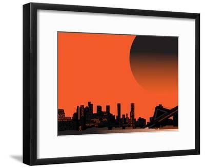 Nyc 1--Framed Poster