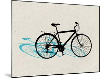 Beach Bike Pop Art--Mounted Poster