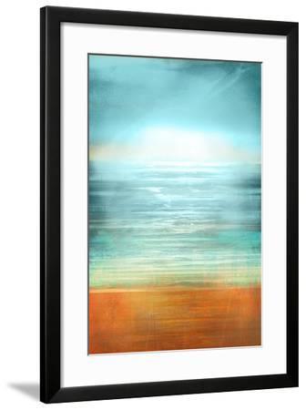 Ocean Abstract-Anna Polanski-Framed Art Print