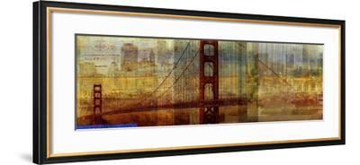Sunset Bridge-Sloane Addison ?-Framed Art Print