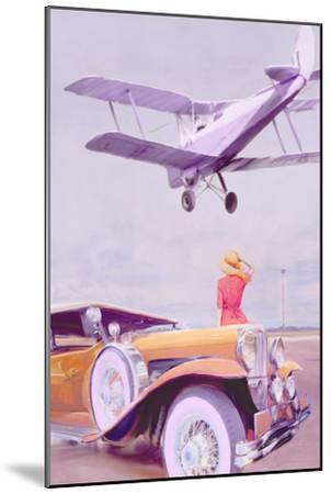 Vintage Airport-Anna Polanski-Mounted Art Print