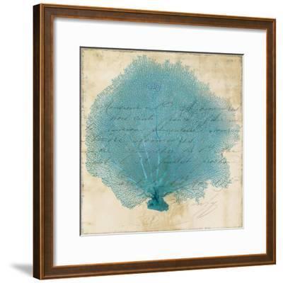 Blue Coral IV-Anna Polanski-Framed Art Print