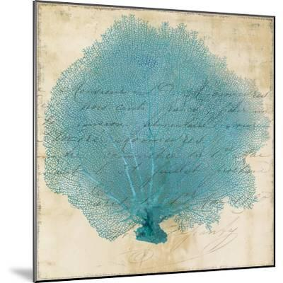 Blue Coral IV-Anna Polanski-Mounted Art Print