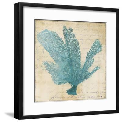 Blue Coral I-Anna Polanski-Framed Art Print