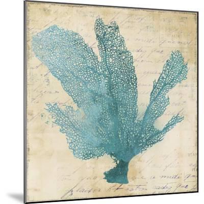 Blue Coral I-Anna Polanski-Mounted Art Print
