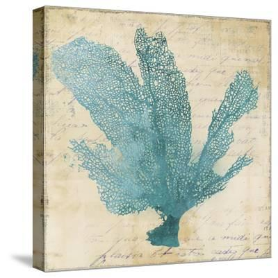 Blue Coral I-Anna Polanski-Stretched Canvas Print