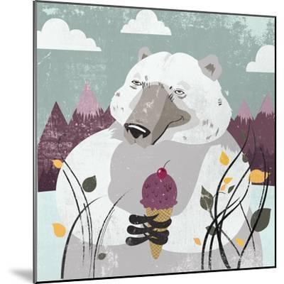 Polar Bear-Anna Polanski-Mounted Art Print