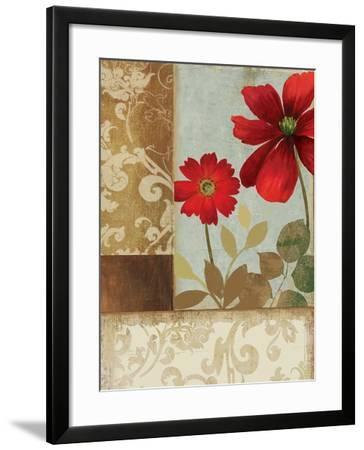 Floral Damask Ii Art Print By Andrew Michaels Art Com