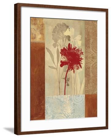 Garden Patchwork-Andrew Michaels-Framed Art Print