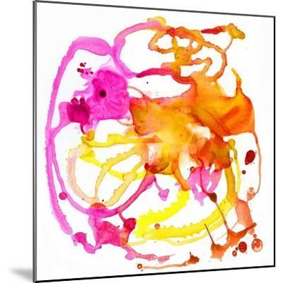 Watercolour Abstract IV-Anna Polanski-Mounted Art Print