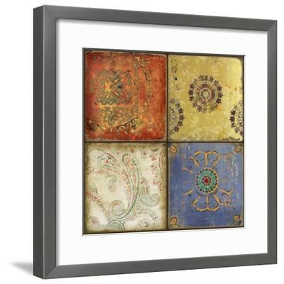Paisley Park II-Andrew Michaels-Framed Art Print