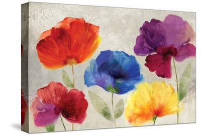 Jewel Florals-Anna Polanski-Stretched Canvas Print