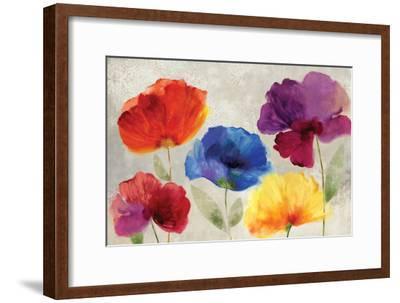 Jewel Florals-Anna Polanski-Framed Art Print