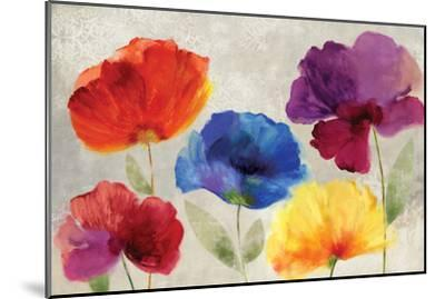 Jewel Florals-Anna Polanski-Mounted Art Print