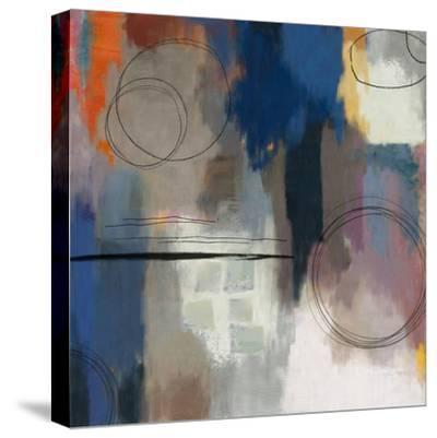 Indigo Touch II-Sloane Addison ?-Stretched Canvas Print